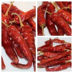 Samba Red Chilies Dried, 250g