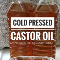 Cold Pressed Virgin Castor Oil, 500ml