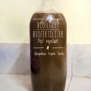 Bio-Fertilzer – Enriched BioSlurry, 1L