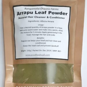 Arrapu/Albizia Amara Powder – Natural Hair Cleanser and Conditioner
