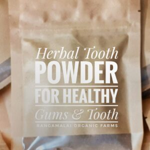 Herbal Tooth Powder – Healthy Gum & Tooth