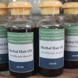 Herbal Hair Oil – Goodness of cold pressed Coconut oil, Bhringraj and other herbs.